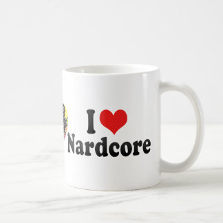 I Love Nardcore Classic White Coffee Mug