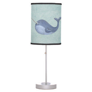 I love Narwhals Table Lamp