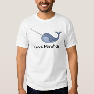 I love Narwhals Shirt