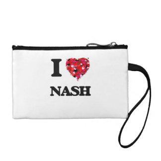 I Love Nash Coin Purses