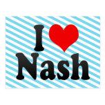 I love Nash Post Card