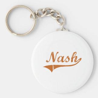 I Love Nash Texas Basic Round Button Keychain