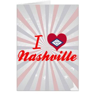 I Love Nashville, Arkansas Card
