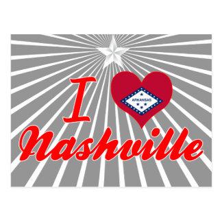 I Love Nashville, Arkansas Post Cards