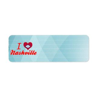 I Love Nashville, Arkansas Return Address Labels