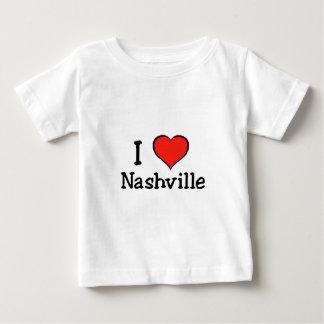 I Love Nashville Baby T-Shirt