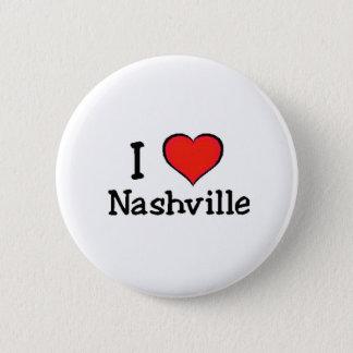 I Love Nashville Button