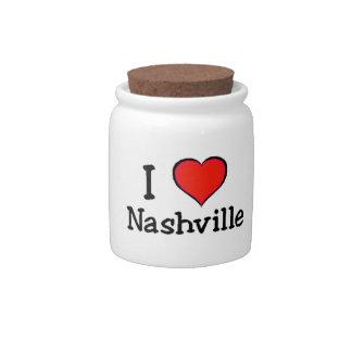 I Love Nashville Candy Dish