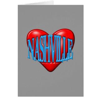 I Love Nashville Card