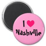 I Love Nashville Fridge Magnet