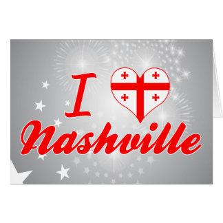 I Love Nashville, Georgia Card