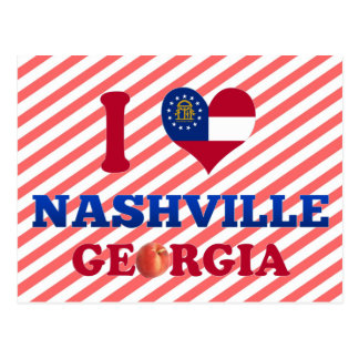 I Love Nashville, Georgia Post Cards