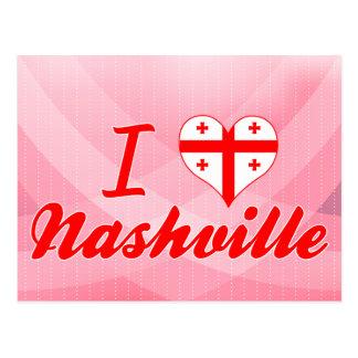 I Love Nashville, Georgia Postcard