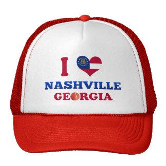 I Love Nashville, Georgia Trucker Hat