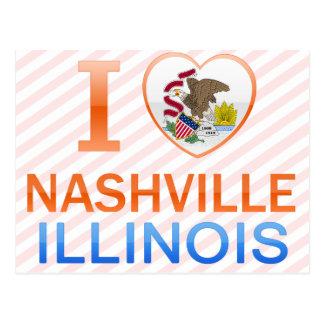 I Love Nashville, IL Post Card