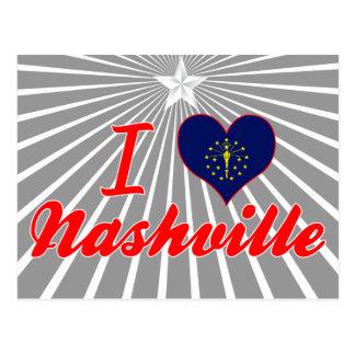 I Love Nashville, Indiana Postcards