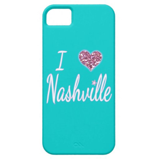 I Love Nashville iPhone SE/5/5s Case