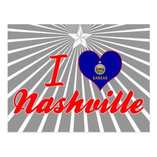I Love Nashville, Kansas Post Card