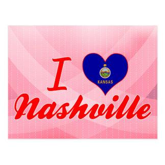 I Love Nashville, Kansas Post Cards