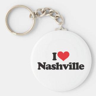 I Love Nashville Keychain