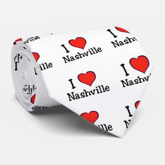 I Love Nashville Neck Tie
