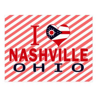 I love Nashville, Ohio Postcard