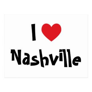 I Love Nashville Post Cards