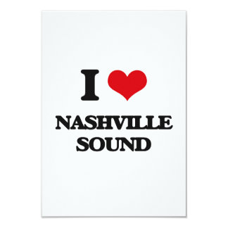 I Love NASHVILLE SOUND Announcements