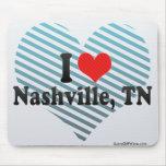 I Love Nashville, TN Mouse Pad