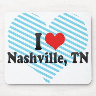 I Love Nashville, TN Mouse Pads