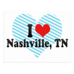 I Love Nashville, TN Post Cards
