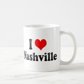 I Love Nashville, United States Mugs