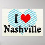I Love Nashville, United States Poster