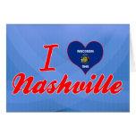 I Love Nashville, Wisconsin Greeting Card