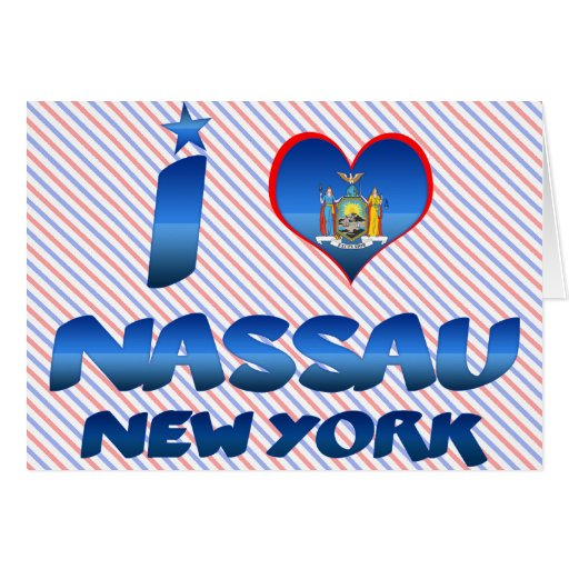 I love Nassau, New York Cards
