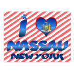 I love Nassau, New York Post Cards