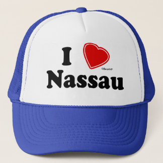 I Love Nassau Trucker Hat