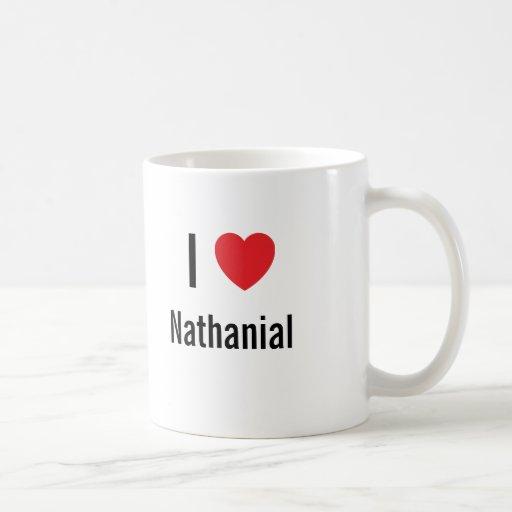 I love Nathanial Coffee Mug