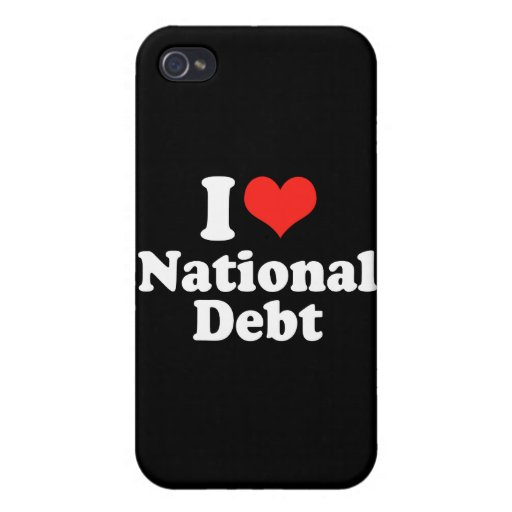 I LOVE NATIONAL DEBT.png Cover For iPhone 4