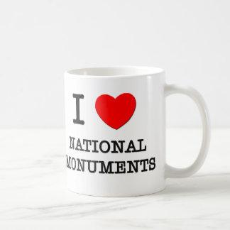 I Love National Monuments Mugs