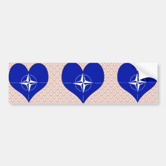 I Love Nato Bumper Stickers