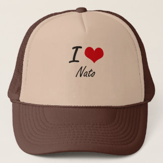 I Love Nato Trucker Hat