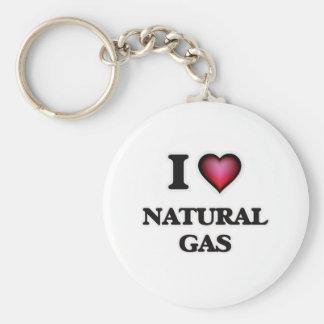 I Love Natural Gas Keychain