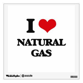 I Love Natural Gas Wall Skins