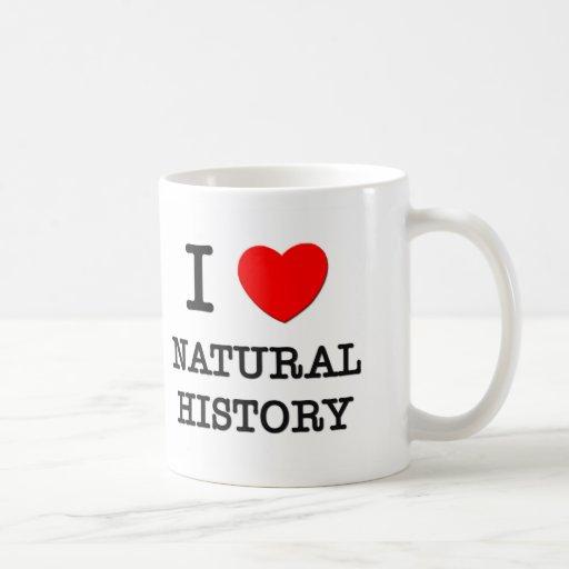 I Love Natural History Mug
