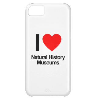 i love natural history museums cover for iPhone 5C