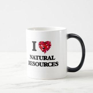 I Love Natural Resources 11 Oz Magic Heat Color-Changing Coffee Mug