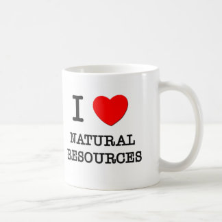 I Love Natural Resources Classic White Coffee Mug