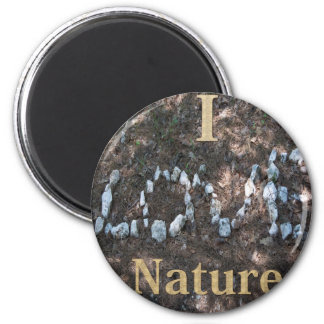 I Love Nature Apparel and Gifts Magnet