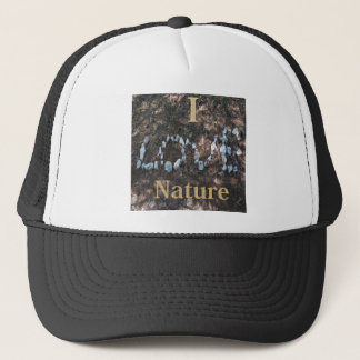I Love Nature Apparel and Gifts Trucker Hat
